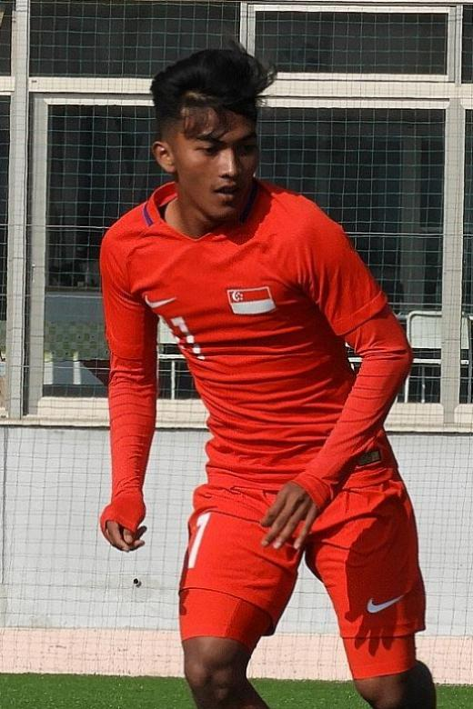Young Lions' sibling-pair relish time together at Merlion Cup