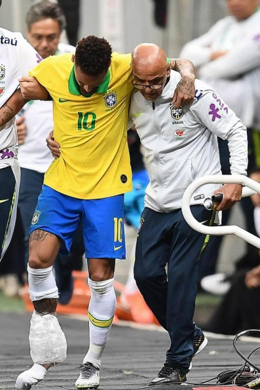 Brazil star Neymar to miss Copa America with injury