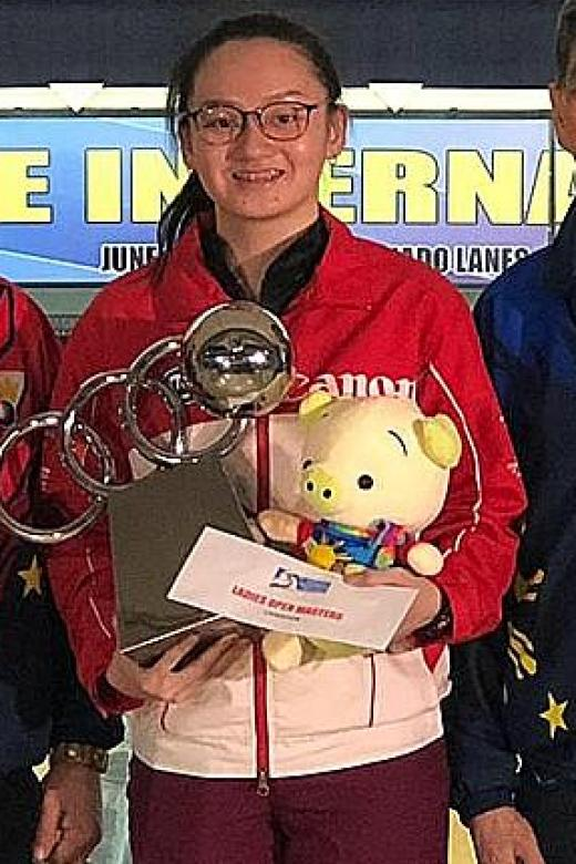 Bowler Amabel Chua, 19, clinches first senior title