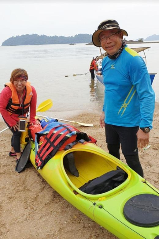 Kayak found 148km away, but Singaporean pair still missing
