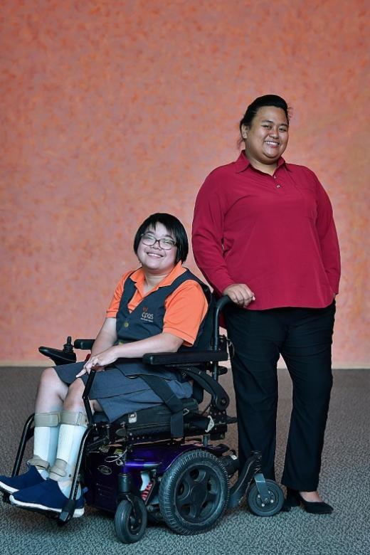 Two students overcome tough odds and become award winners