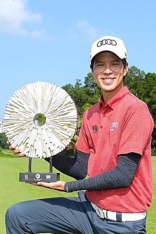 Self-belief propels Singapore golfer Quincy Quek to his biggest win