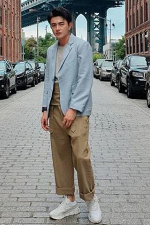 Shane Pow's foray into fashion
