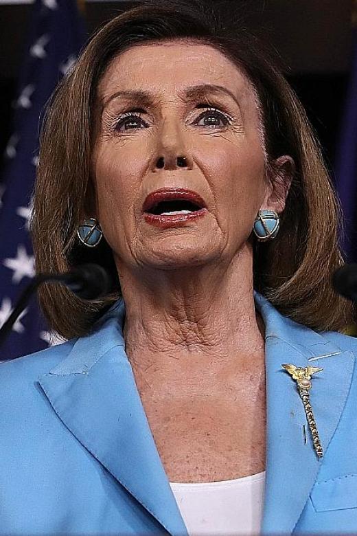 Trump puts Pelosi in cross hairs, accuses her of treason