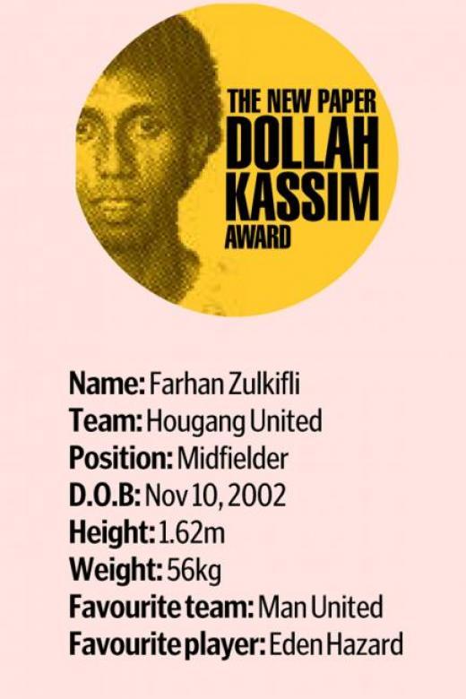 TNP Dollah Kassim Award: Desire to excel helps Farhan Zulkifli go far
