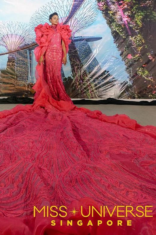 Miss Universe Singapore costume draws flak from designers, netizens