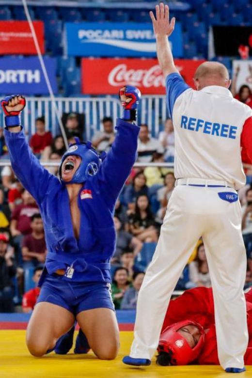 Fencing and MMA help Nazri Sutari win SEA Games gold in sambo