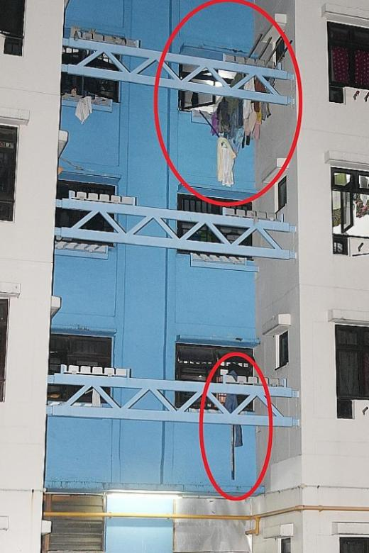 Woman falls from 4th-storey Whampoa flat as she takes in clothes