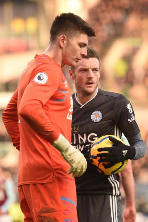 Pope leaves Vardy without a prayer