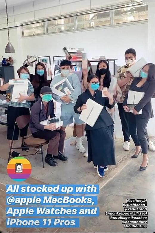 Vogue Singapore apologises for social distancing 'lapse'