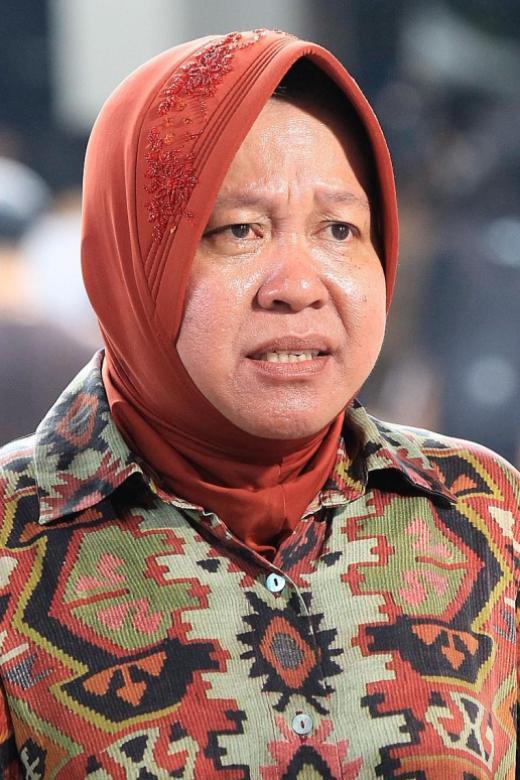 Hard-hit Surabaya's mayor breaks down in tears at Covid-19 meeting