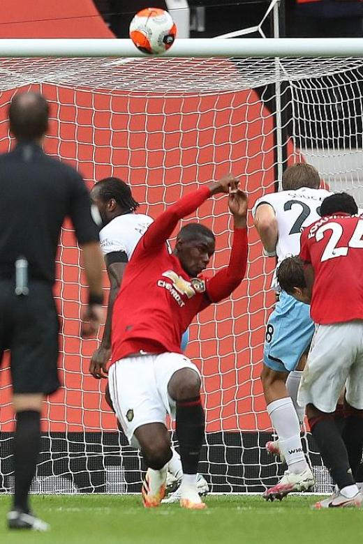 Maguire on Pogba's handball: He should have taken one in the face
