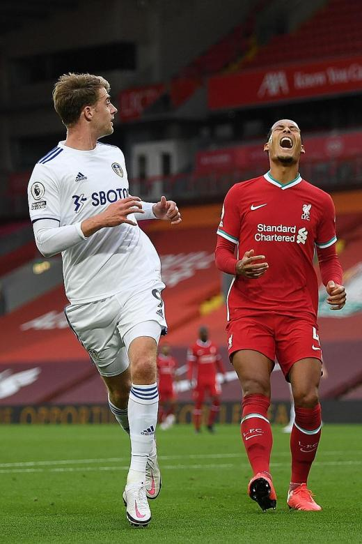Liverpool's defence comes under fire after 4-3 win over Leeds
