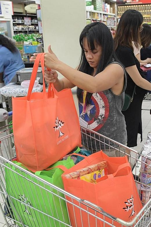 FairPrice extends No Plastic Bag initiative for another year
