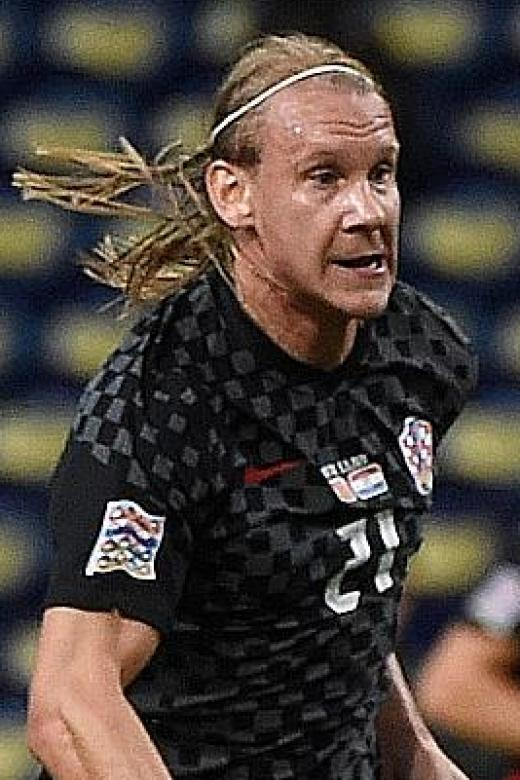 Croatia's Vida informed of Covid-19 positive test at half-time