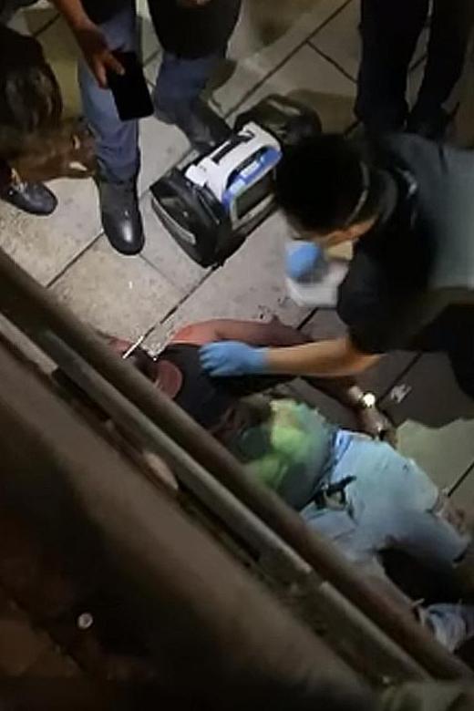 Couple stabbed in Clarke Quay brawl, five men arrested