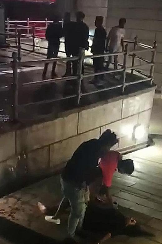 Four men charged with rioting with deadly weapon over Clark Quay fight