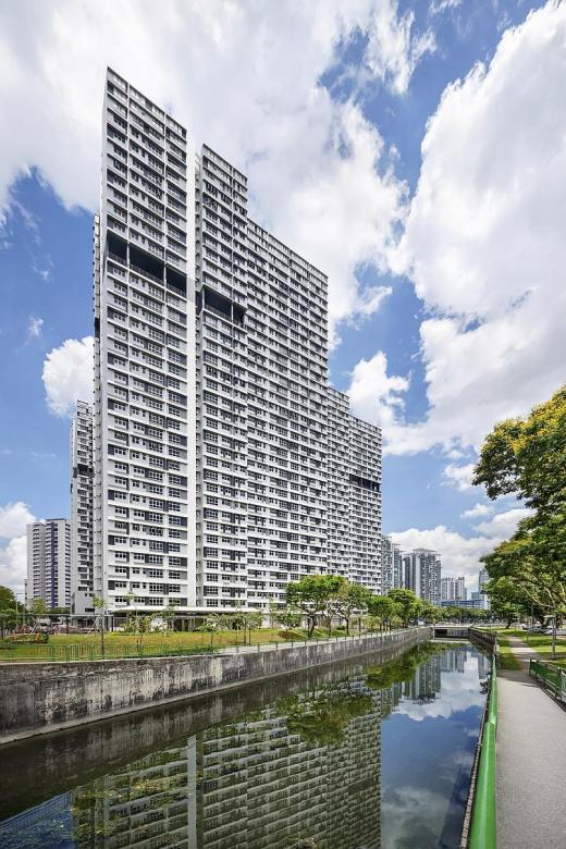 Firm which designed St George's Towers BTO project wins top HDB award