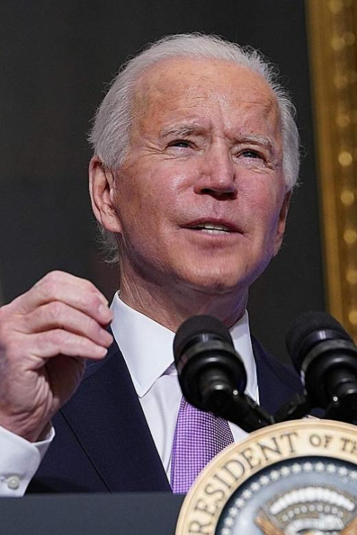 Biden: Time to act now to heal US racial divide