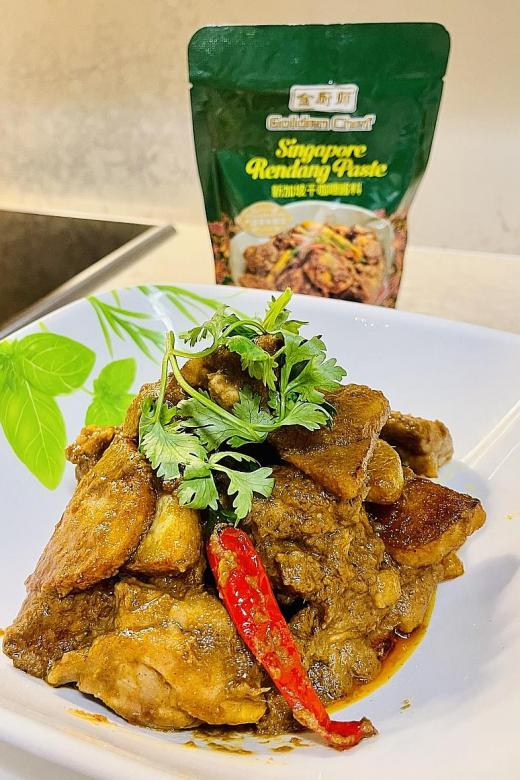 Cook up tasty meals with chef Eric Teo's recipes, Golden Chef products