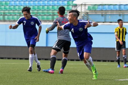 Justin scores hat-trick as Meridian land ninth A Division crown
