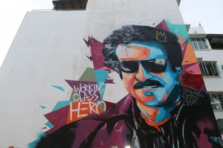 Working Class Hero is a tribute to migrant workers and reminds them, in the form of Rajinikanth, that success does not depends on your background.