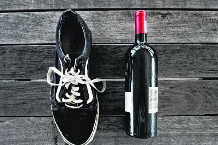 You can try to uncork a wine bottle using a shoe.