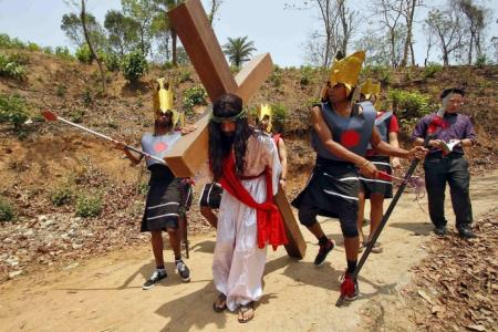 Showing their passion for Christ