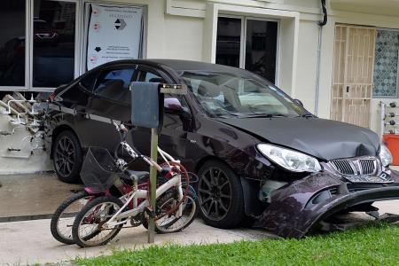 Reverse crash