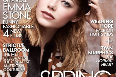 Emma Stone covers Vogue