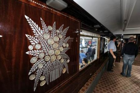 Step aboard Orient Express for journey back in time