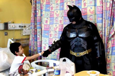 Holy alter ego, Batman!