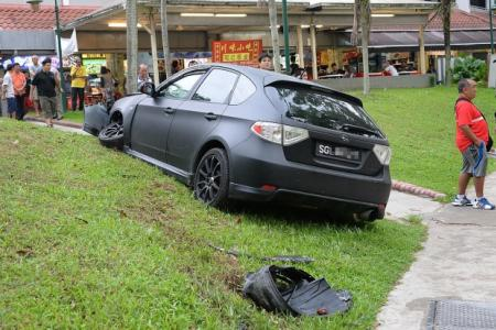 Jogger slams into windscreen and survives