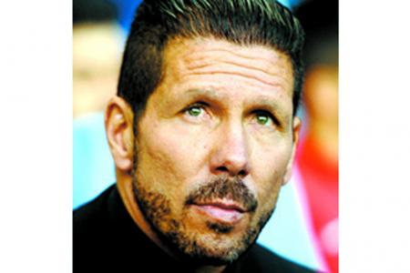 Simeone puts Euro final out of mind