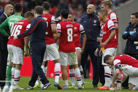 Wenger rues missed chance