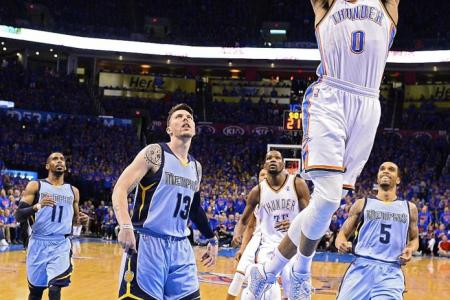 Thunder, Clippers advance