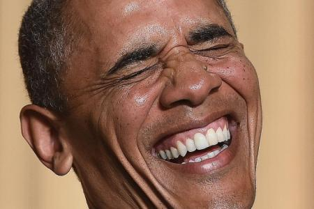 Very funny, Mr President