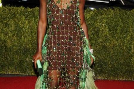 Lupita Nyong'o at the Met Ball