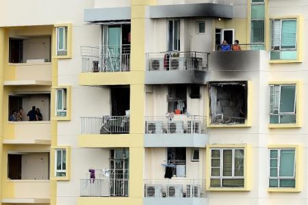 In panic, residents take lift