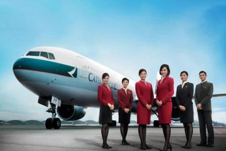 Union: Cathay Pacific stewardesses' blouse too sexy