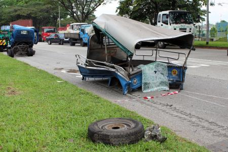 'Lucky no one was badly injured'
