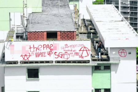 Is vandalism OK?