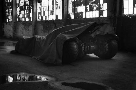 Here's your first look at Ben Affleck as Batman