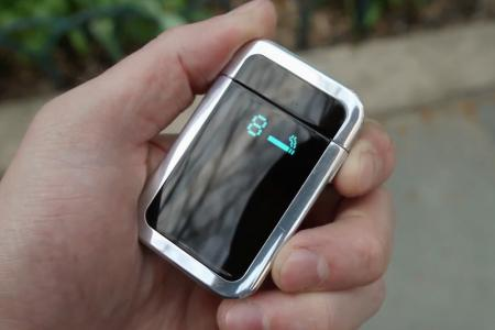 Smart lighter to help smokers quit