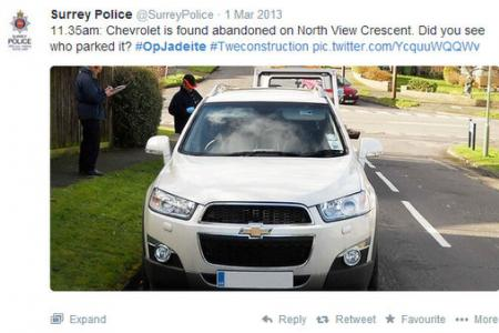 Men jailed after UK police use Twitter to reconstruct robbery