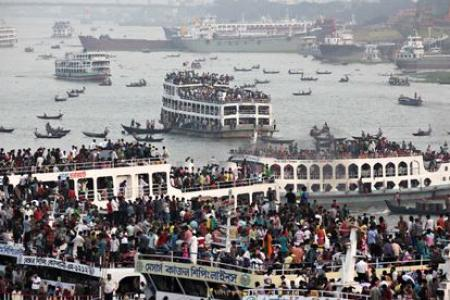 Bangladesh ferry carrying hundreds sinks