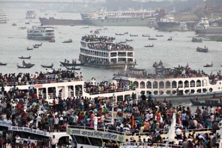 Bangladesh ferry carrying hundreds sinks