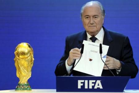 Blatter: Qatar World Cup a mistake