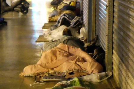 Homeless, hapless