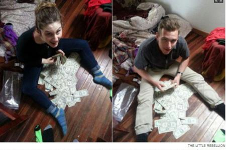 Roommates find $40,000 cash hidden inside $20 secondhand couch